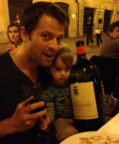 Misha and West in Rome