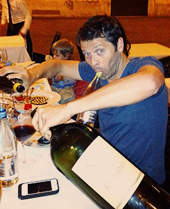 Misha in Rome - misha-collins Photo