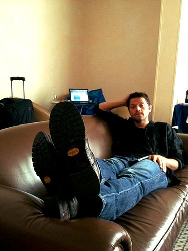 Misha in Rome