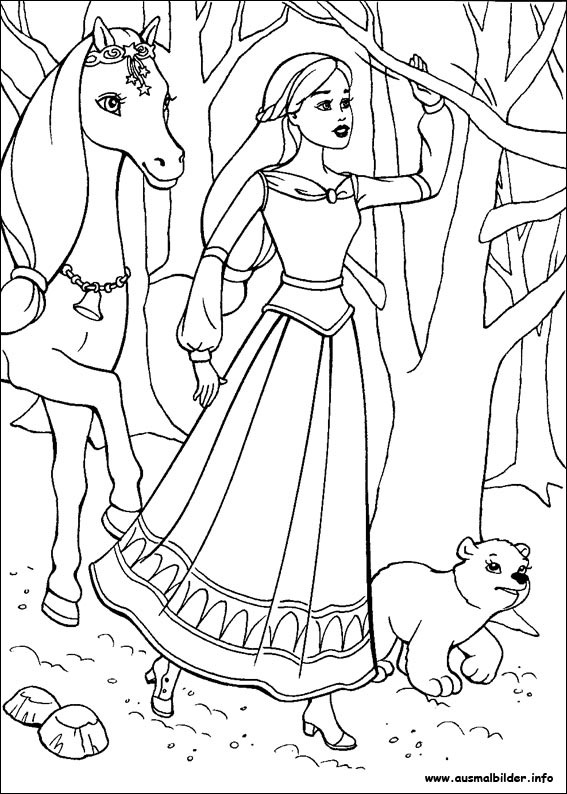 barbie coloring pages 2006 - photo#33