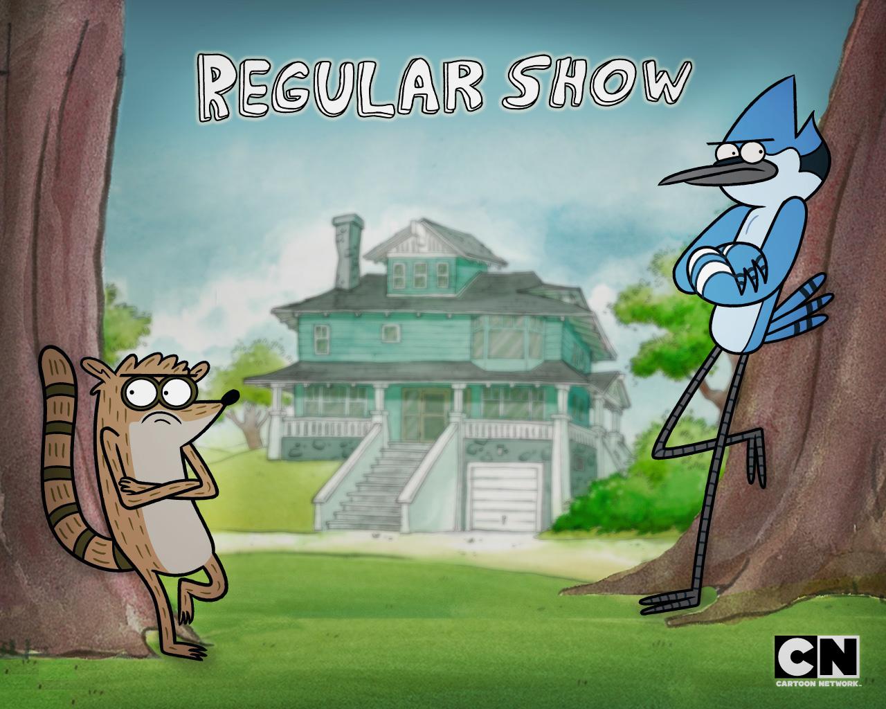 Regular Show Mordecai and Rigby