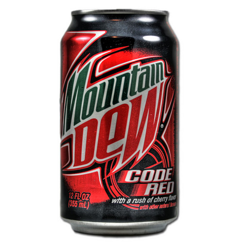 Mountain Dew Code Red - mountain-dew-code-red Photo