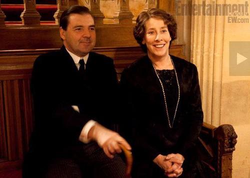 Mr Bates & Mrs Hughes <3