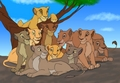 Mufasa's pride - the-lion-king fan art