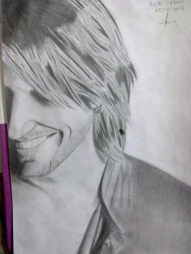 My Keith Urban New Sketch