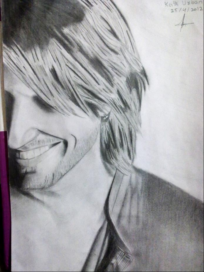 My Keith Urban New Sketches