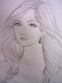 My drawing...my princess - drawing photo