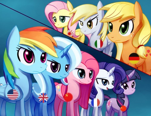 My little pony-HETALIA :D