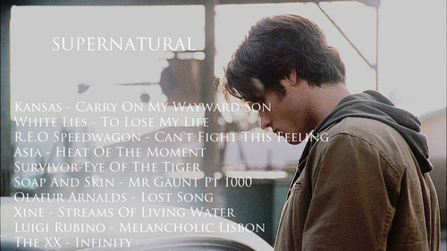 My playlist - supernatural Fan Art
