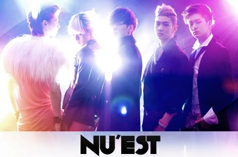 NU'EST wallpaper possibly with a concert and a business suit called NU'EST