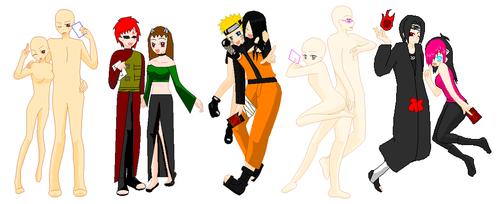 Naruto Couple Collab