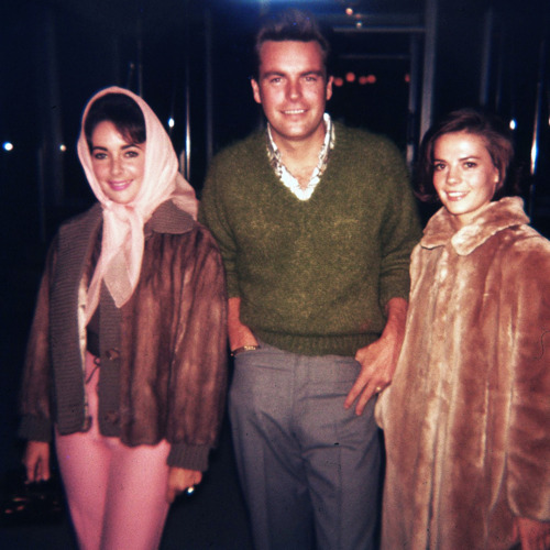 Nat, RJ and Elizabeth Taylor