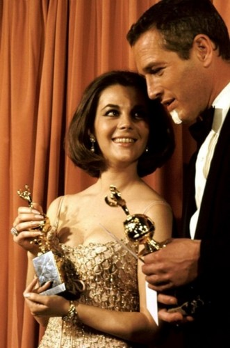 Natalie and Paul Newman