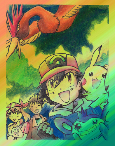 New Quest begins! - pokemon Fan Art