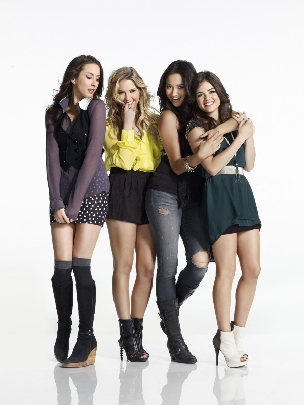 Pretty little liars tv show pll promo photoshoot