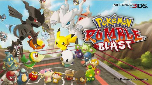 Prb Fond D Ecran Pokemon Rumble Blast Photo 30633532