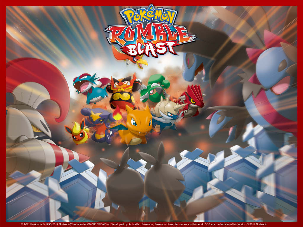 pokemon rumble blast images prb wallpaper hd wallpaper and