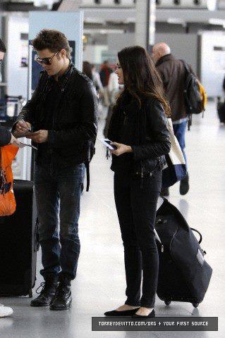 Paul & Torrey at PI Airport in Toronto, Canada(13-14 April 2012)
