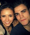 Paul and Nina :) - paul-wesley-and-nina-dobrev photo