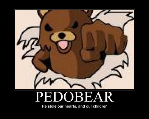 pedo bear wallpaper probably with anime called Pedo Bear
