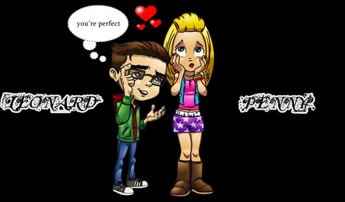 The Big Bang Theory wallpaper titled Penny and Leonard 5
