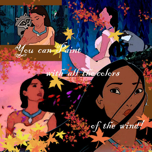 Pocahontas - disney-princess Fan Art