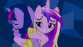 Princess Cadance hugging Twilight - twilight-sparkle-and-princess-cadance photo
