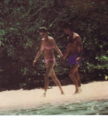 Princess Diana and Prince Charles on vacation