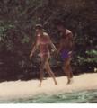 Princess Diana and Prince Charles on vacation