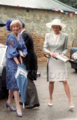 Princess Diana and her mother