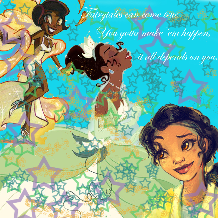 Disney Princess Tiana Quote