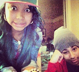 Princeton with তারকা from the OMG girlz!!!! :)