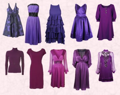 Purple Outfits For D.W.E.K.