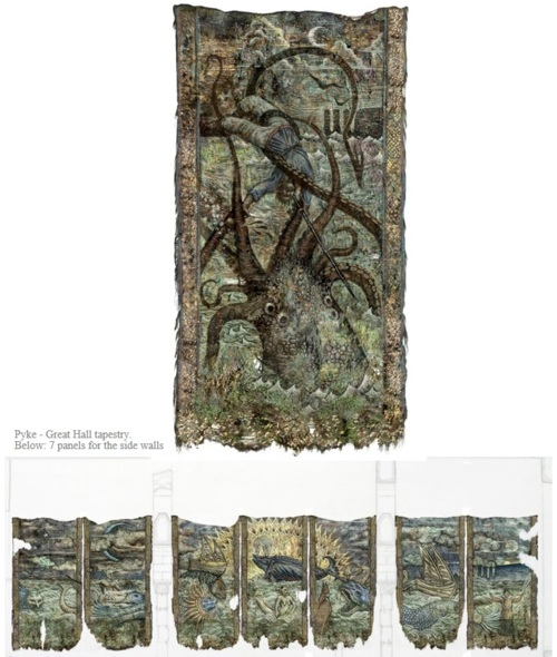 Pyke Tapestry concept art