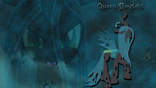 Queen Chrysalis پیپر وال