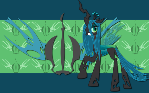 Queen Chrysalis پیپر وال