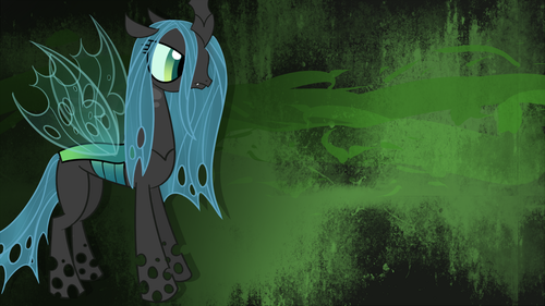 queen Chrysalis wallpaper