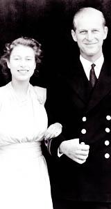 クイーン Elizabeth and Prince Phillip engagement announcement
