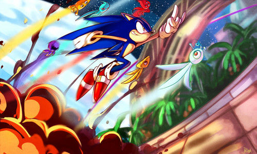 Sonic the Hedgehog images Reach for the stars HD wallpaper and background photos