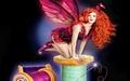 Redhead fairy