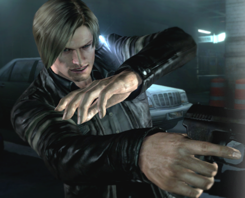 Resident Evil wallpaper probably containing a hip boot and a turntable called Resident Evil 6 - Leon