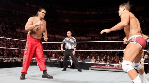 Rhodes and Del Rio vs toon and Khali