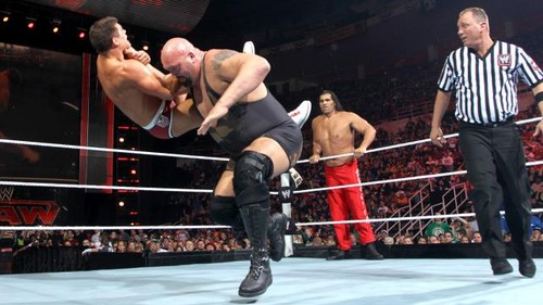 Rhodes and Del Rio vs toon and Khali