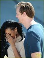 Rihanna &amp; Alexander Skarsgard: 'Battleship' in Pearl Harbor! - alexander-skarsgard photo