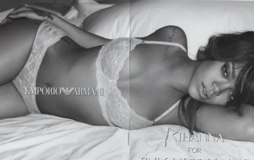 রিহানা - Armani Collection Catalogue 2012