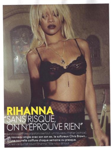 রিহানা - Magazine Scans - Elle France - May 2012