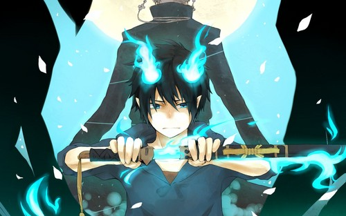 Ao no Exorcist wallpaper entitled Rin ^_^