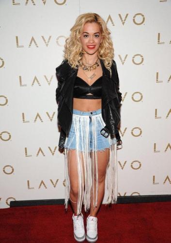 Rita Ora - Red carpet at LAVO In Las Vegas - April 29th 2012