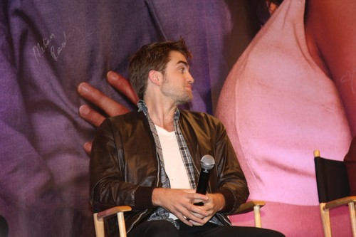 Robert Pattinson images Rob at the 'Breaking Dawn - Part 1' LA convention!  HD wallpaper and background photos