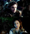 Robb & Gwen - merlin-vs-game-of-thrones fan art